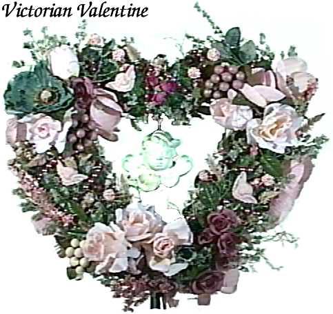 Victorian valentine wreath m4hsunfo