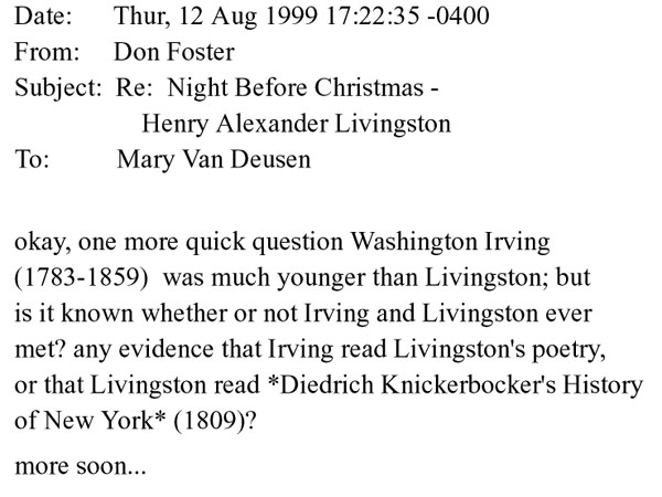 Washington Irving Irving, Washington - Essay