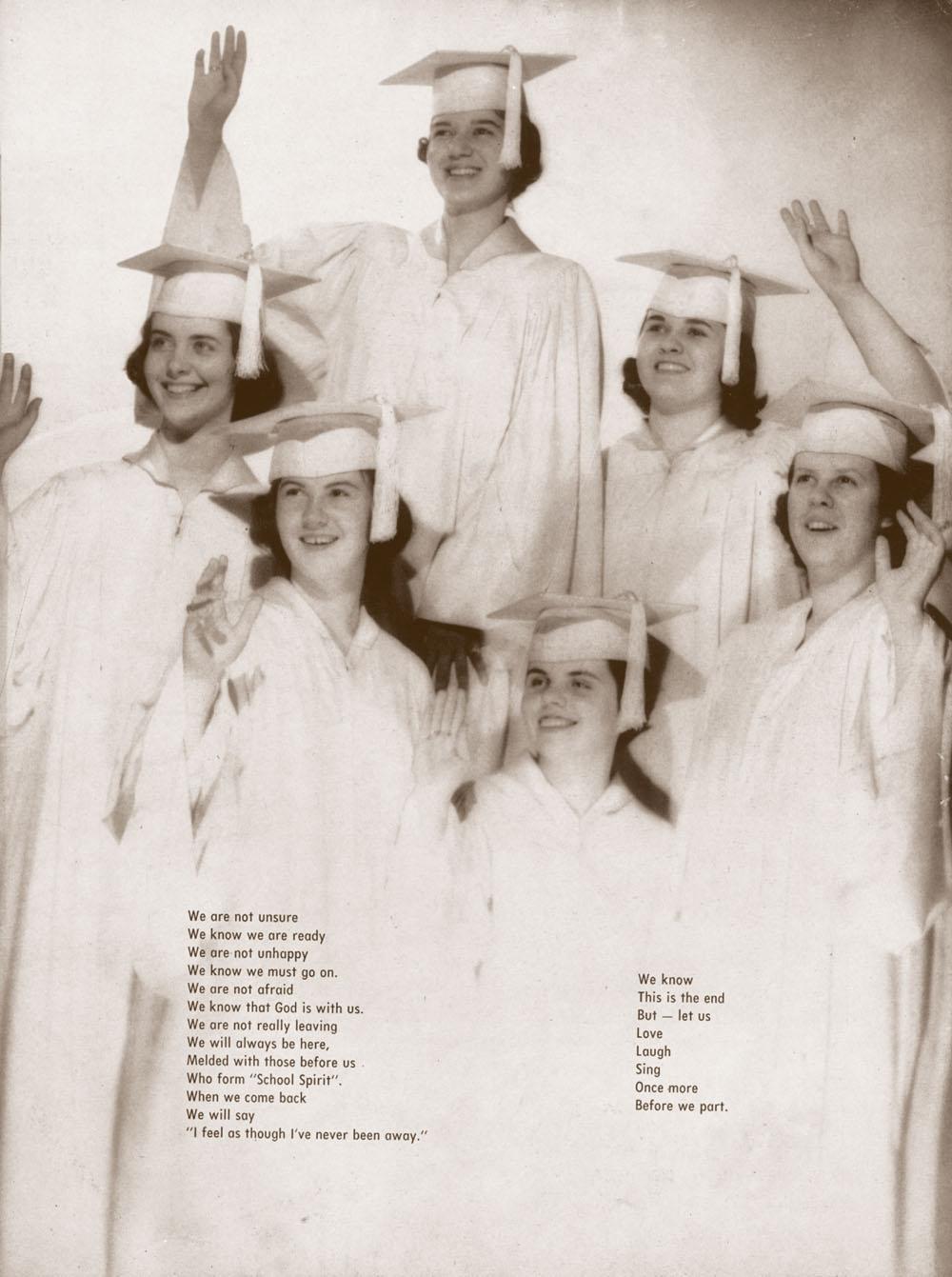 Aquinas Dominican High School - Taquin '60 - Class of 1962 - Waving